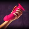 Dildo dla kobiet FUN FACTORY Boss, różowy