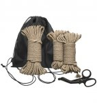Kink by Doc Johnson Bind & Tie Initiation Kit 5 Piece Hemp Rope