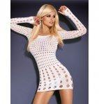 Rocker sukienka biała S/M/L
