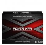 PowerMan 10 kapsułek (tabletek) na potencję u mężczyzn