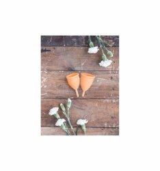 Lunette Menstrual Cup Orange - model 1