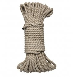 Kink by Doc Johnson Hogtied - Bind & Tie - 6mm Hemp Bondage Rope 50 Feet