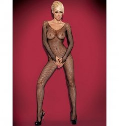 Bodystocking N109 czarne S/M/L