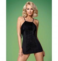 Obsessive 824-DRE-1 sukienka czarna S/M
