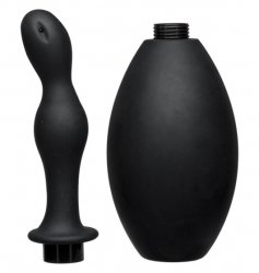 Kink Flow Flush - Silicone Anal Douche & Accessory