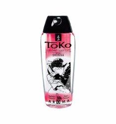 Shunga - Toko Lubricant Strawberry 165 ml  lubrykant na bazie wody o smaku truskawkowym
