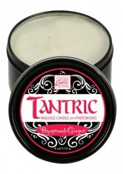 TANTRIC CANDLE W PHER. POMGR.GINGER
