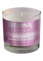 MASSAGE CANDLE TROPICAL TEASE 135 G