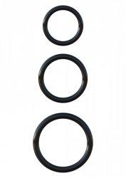 Silicone 3-Ring Stamina Set