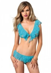 Flirty Lace Top & G-String