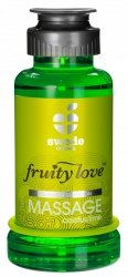 Swede Fruity Love Massage - owocowy żel do masażu 100 ml (kaktus - limonka)