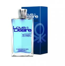 Feromony Love & Desire męskie - 50 ml