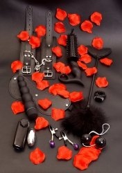 Toy Joy - zestaw BDSM Lovetoy Starter Kit