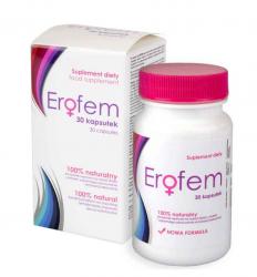 Erofem – 30 kapsułek (tabletek) na libido dla Pań