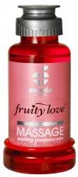Swede Fruity Love Massage - owocowy żel do masażu 100 ml (wino truskawkowe)