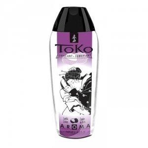 Shunga - Toko Lubricant Lustful Litchee 165 ml lubrykant na bazie wody o smaku liczi