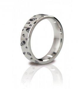 MyStim His Ringness The Duke 48mm - pierścień erekcyjny (grawerowany)