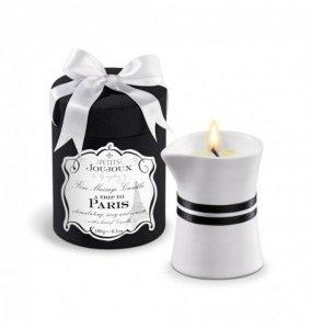 Petits Joujoux Fine Massage Candles A trip to Paris (duża) - świeca do masażu (wanilia i drzewo sandałowe)