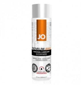 System JO Premium Anal Silicone Lubricant Warming 120 ml - lubrykant analny na bazie silikonu