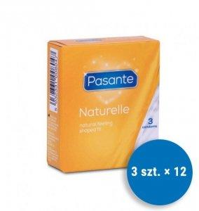 Pasante Naturelle - Prezerwatywy  (12op./3szt.)