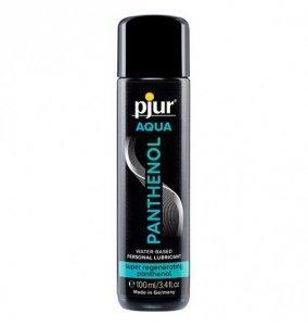 pjur Aqua Panthenol 100ml - lubrykant na bazie wody z nawilżającym pantenolem