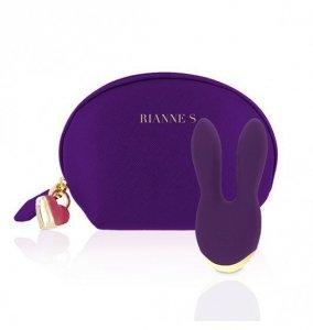 Rianne S Essentials Bunny Bliss - Wibrator Króliczek (głęboki fiolet)