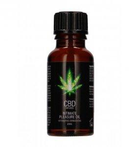 Shots CBD Intimate Pleasure Oil 20 ml - olejek do masażu z CBD