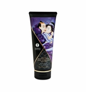 Shunga Exotic Fruits Kissable Massage Cream 200 ml - jadalny krem do masażu (owoce egzotyczne)