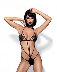 Obsessive Luiza body S/M (czarny)
