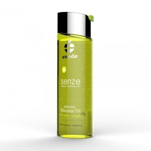 Swede Senze Massage Oil - olejek do masażu 150 ml (cytryna - pieprze - eukaliptus)