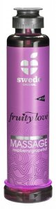 Swede Fruity Love Massage - owocowy żel do masażu 200 ml (malina - grejpfrut)