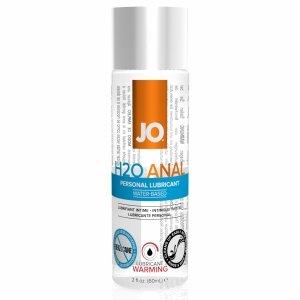 System JO Anal H2O Lubricant Warming 60 ml - rozgrzewający lubrykant analny na bazie wody