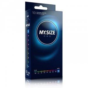 MY.SIZE Pro 72 mm - Prezerwatywy (1op./10szt.)