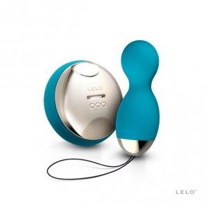 LELO Hula Beads - Wibrujące Jajko (oceaniczny błękit)