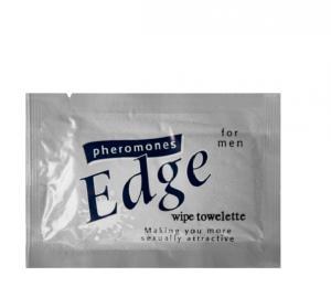 Feromony The Edge próbka męska – chusteczka nawilżana 3ml