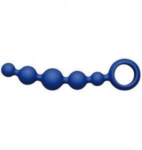 Kulki analne JoyDivision Joyballs anal Wave (krótkie, niebieskie)