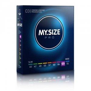MY.SIZE Pro 69 mm - Prezerwatywy (1op./3szt.)