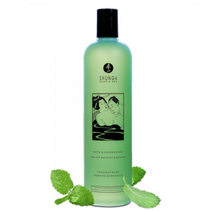Shunga Bath & Shower Gel Mint 500 ml - żel pod prysznic (mięta)