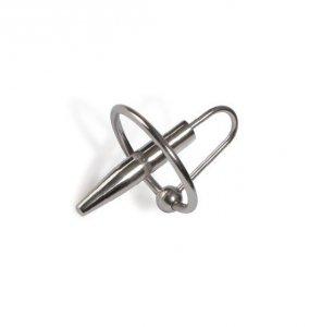 Sonda do cewki moczowej Titus Range: Penis Plug with Ring 32mm