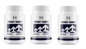 Zestaw Potency Therapy - 3 opakowania kapsułek