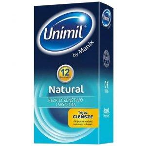 Unimil Natural - Prezerwatywy klasyczne (1op./12szt.)