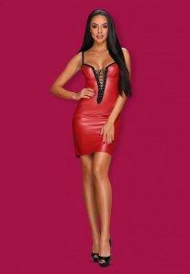 Obsessive Redella sukienka czerwona  S/M