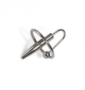 Sonda do cewki moczowej Titus Range: Penis Plug with Ring 30mm