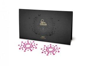 Bijoux Indiscrets Mimi - naklejki na sutki (różowe)
