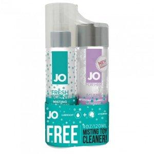 System JO - Agape & Misting Toy Cleaner - środek nawilżający dla kobiet i spray czyszczący