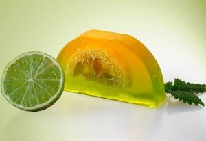 Mydło Cytryna & limonka loofah 100g