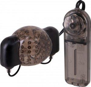 Dream Toys Menzstuff Dual Power Penis Head Sleeve - wibrujący mastrubator