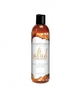 Intimate Earth - Salted Caramel Flavored Lubricant 120 ml - lubrykant o smaku wanilii i solonego karmelu