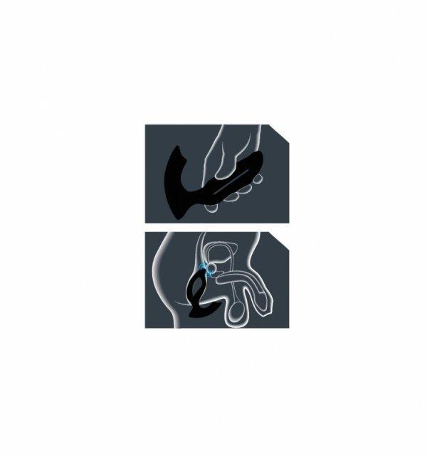 Joy Division XPANDER X2 Large - Masażer prostaty (czarny)