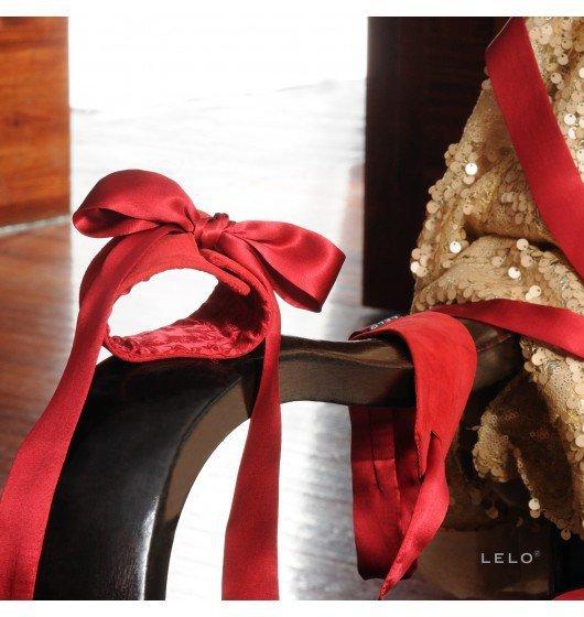 LELO - kajdanki erotyczne Etherea, czerwone